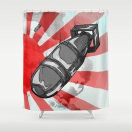 Atom Bomb Fat Boy Shower Curtain
