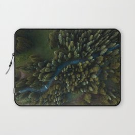Arial View of River Laptop Sleeve