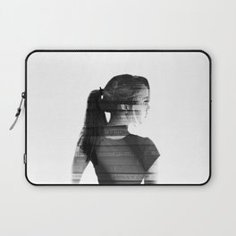 She was lost in her longing to understand. Laptop Sleeve