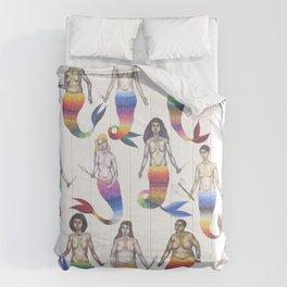 mermaid army Comforters