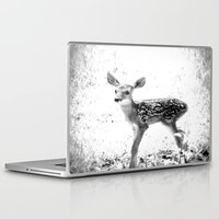 fawn Laptop & iPad Skins featuring fawn by 2sweet4words Designs