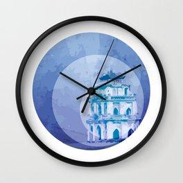 Vietnam Hoan Kiem Lake Hanoi Capital Wall Clock