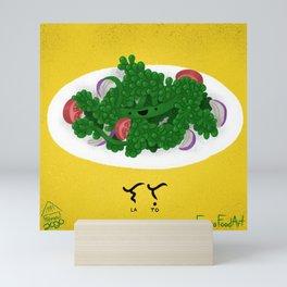 Lato in Baybayin (Caulerpa lentillifera) Mini Art Print