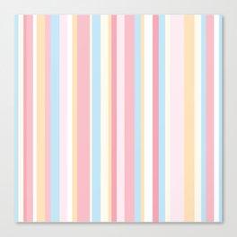 Whale Beach Stripe Canvas Print