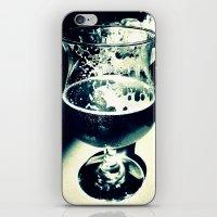 beer iPhone & iPod Skins featuring Beer by Derek Fleener