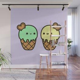Ice cream love Wall Mural