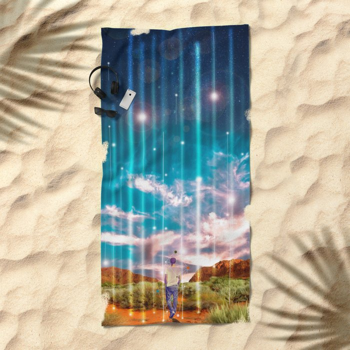 TRAVELLING LIGHTS Beach Towel