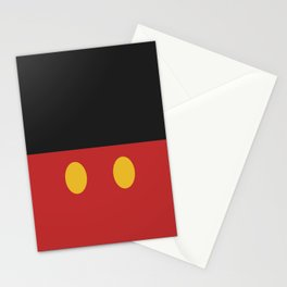 Minimal Mickey Mouse Stationery Cards