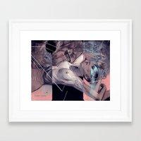 "eugenia loli Framed Art Prints featuring Loli study #2 ""Relinquish"" by -Orlando Sanchez Art-"