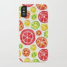 Citrus Blend iPhone Case