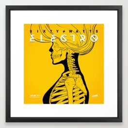 Electro - Original Version Framed Art Print
