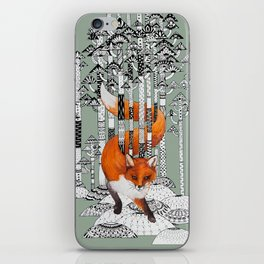Fox Forest iPhone Skin