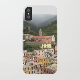 vernazza panorama, cinque terre, italy. iPhone Case
