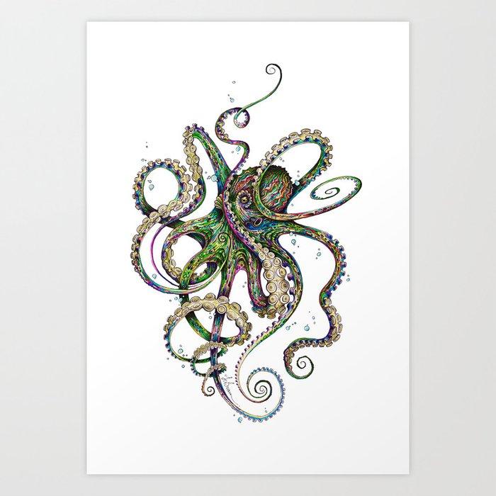 Octopsychedelia Kunstdrucke