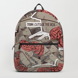Think Outside The Box Color Backpack