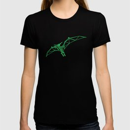 Prehistoric Geometric Low poly dinosaur T-shirt
