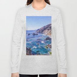 California Dreamin - Big Sur Long Sleeve T-shirt