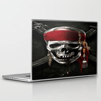 pirate Laptop & iPad Skins featuring PIRATE by Acus
