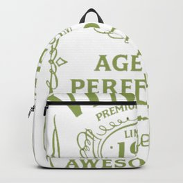 Green-Vintage-Limited-1952-Edition---65th-Birthday-Gift Backpack