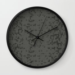 Chain Mail Texture Wall Clock