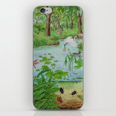 A Day of Forest (4). (the lake ecosystem) iPhone & iPod Skin