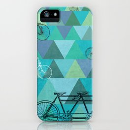 Tour de'Triangle iPhone Case