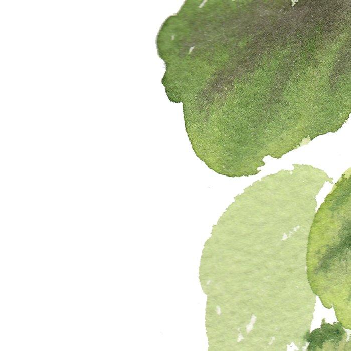 Fiddle-Leaf Fig (Watercolor) Leggings