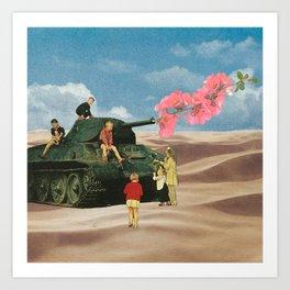 Love Not War Art Print