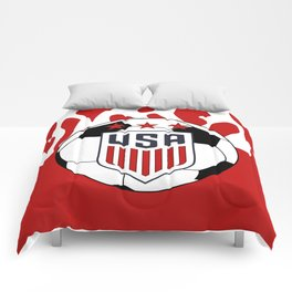 United States Soccer Comforters