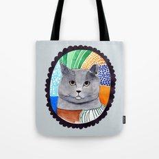 KITTY / GREY Tote Bag