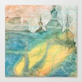 Unity - 22 Watercolor Painting Canvas Print