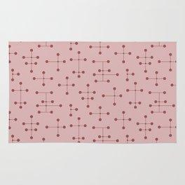 Atomic Era Dots 132 Rug