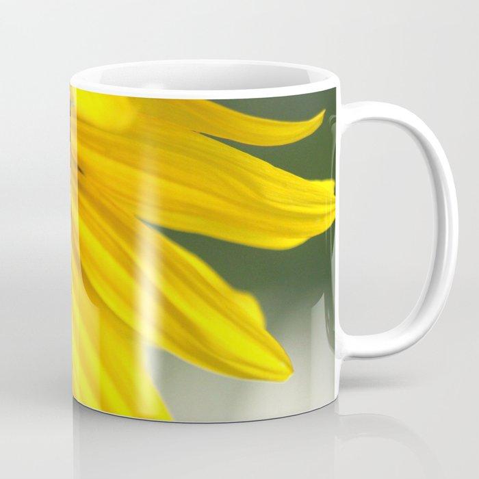 Cheerful Sunflower Bloom Coffee Mug