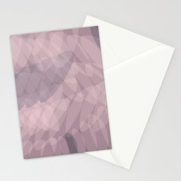 Blush Purple and Blue III Stationery Cards