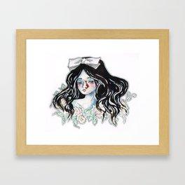 Oh No Broken Nose Framed Art Print