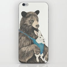 the bear au pair iPhone & iPod Skin