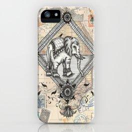 Vintage Elephant iPhone Case