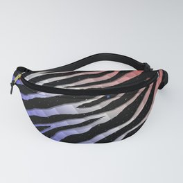 Ripped SpaceTime Stripes - Blue/White/Red Fanny Pack