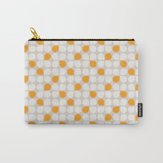 Daisy Crush Floral Pattern Carry-All Pouch