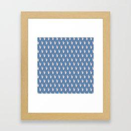 Cool Hands Pattern Framed Art Print