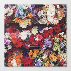 Photoreal Floral Canvas Print