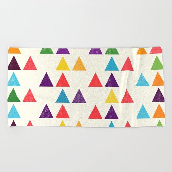 Lovely geometric Pattern XII Beach Towel