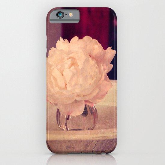 white peony II iPhone & iPod Case