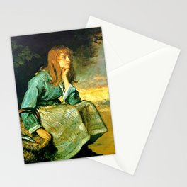 Call Her In - J. Everett Millais Stationery Cards