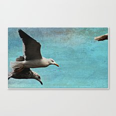 Hurry up! Canvas Print