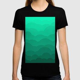 Sage Ombre Clouds T-shirt
