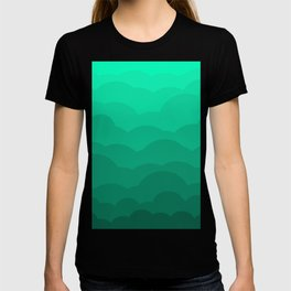 Sage Ombre Clouds T-shirt