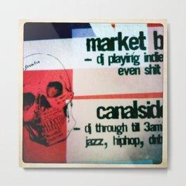 Night Markets Metal Print