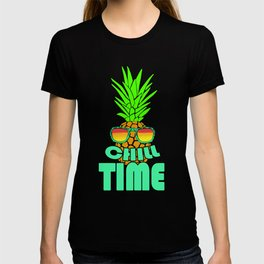 Chill Time Pineapple Hawaii T-shirt