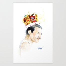 FreddieMercury Art Print